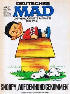Go to MAD Magazine #27 • Germany • 1st Edition - Williams
