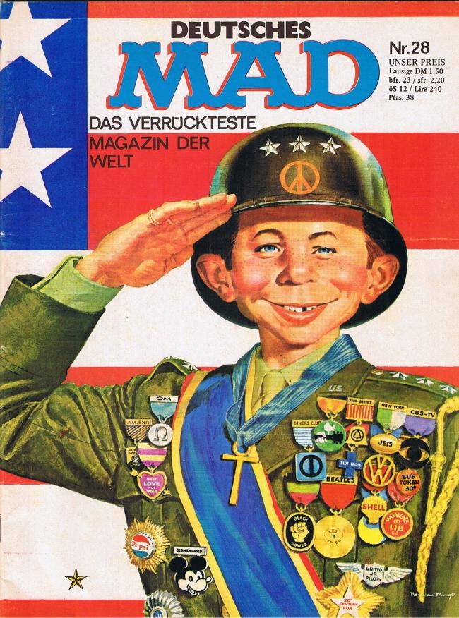 MAD Magazine #28 • Germany • 1st Edition - Williams