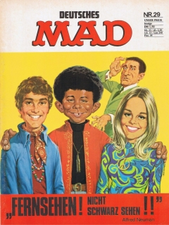 Go to MAD Magazine #29 • Germany • 1st Edition - Williams