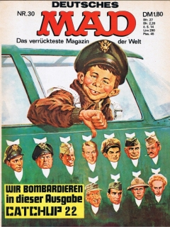 Go to MAD Magazine #30 • Germany • 1st Edition - Williams