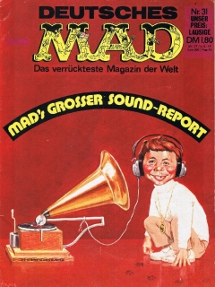 Go to MAD Magazine #31 • Germany • 1st Edition - Williams