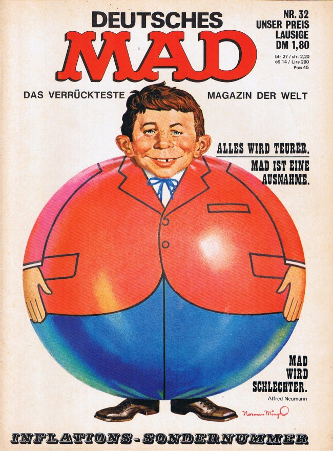 MAD Magazine #32 • Germany • 1st Edition - Williams