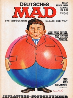 Go to MAD Magazine #32 • Germany • 1st Edition - Williams