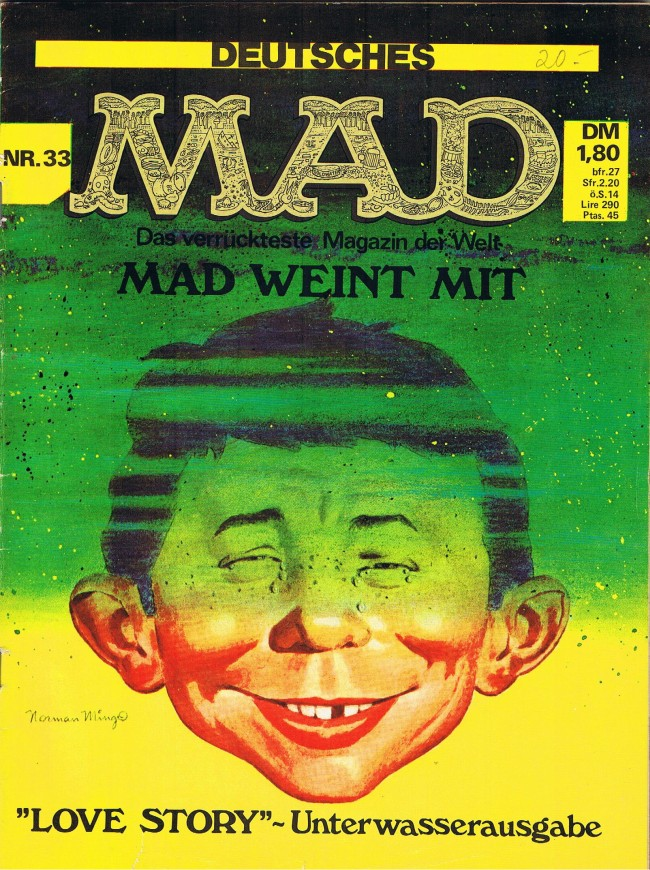 MAD Magazine #33 • Germany • 1st Edition - Williams