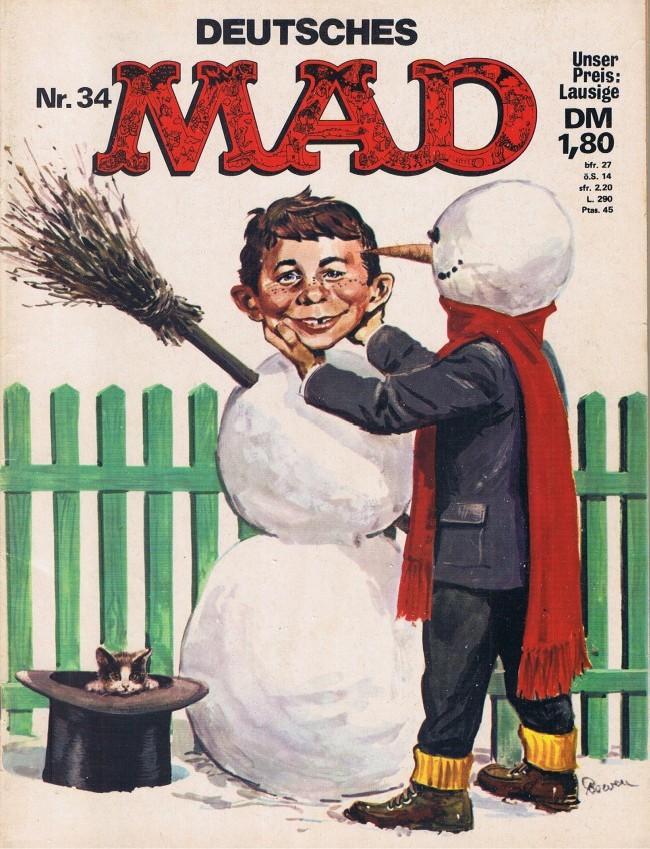 MAD Magazine #34 • Germany • 1st Edition - Williams