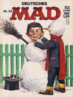Go to MAD Magazine #34 • Germany • 1st Edition - Williams