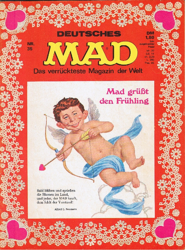 MAD Magazine #35 • Germany • 1st Edition - Williams