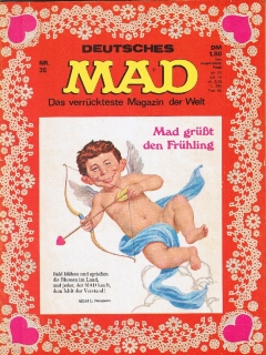 Go to MAD Magazine #35 • Germany • 1st Edition - Williams