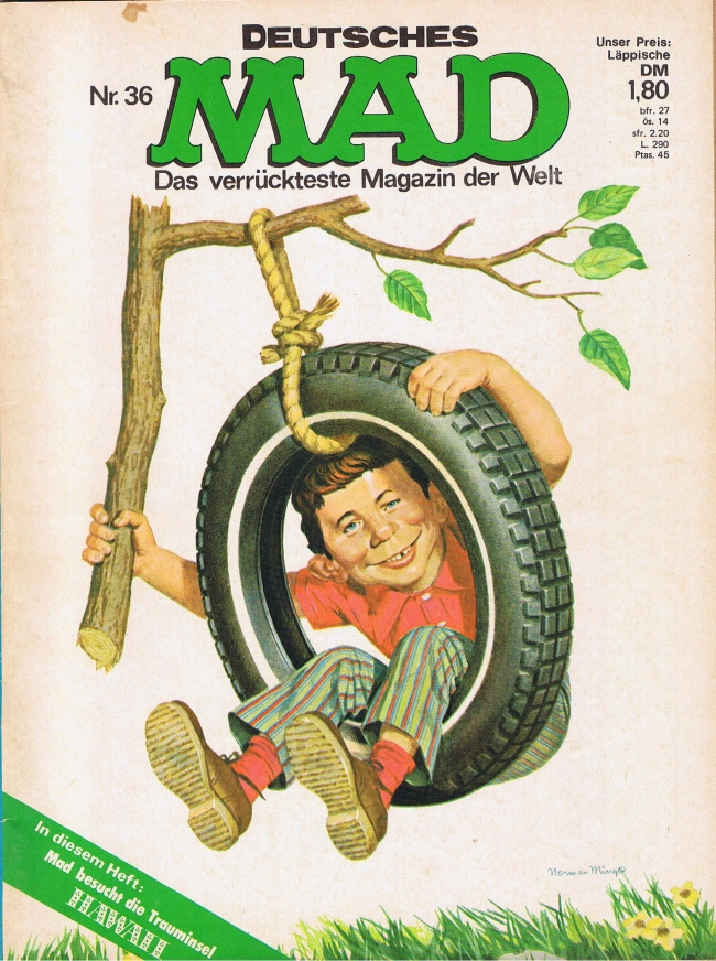 MAD Magazine #36 • Germany • 1st Edition - Williams