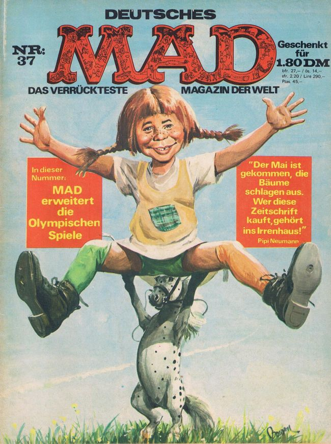 MAD Magazine #37 • Germany • 1st Edition - Williams