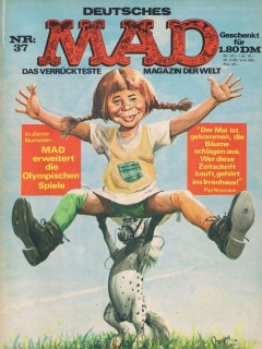 Go to MAD Magazine #37 • Germany • 1st Edition - Williams