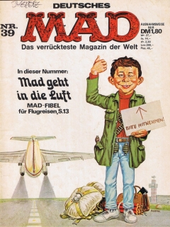 Go to MAD Magazine #39 • Germany • 1st Edition - Williams