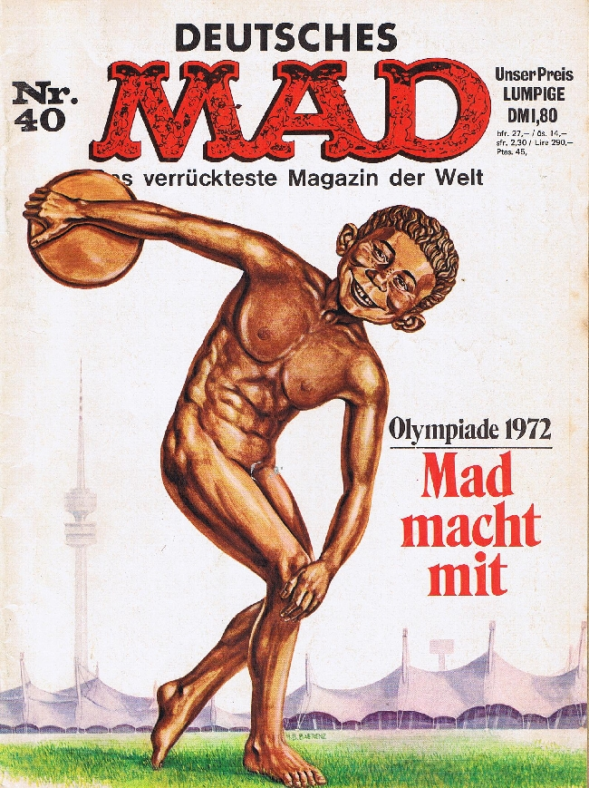 MAD Magazine #40 • Germany • 1st Edition - Williams