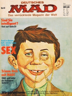 Go to MAD Magazine #41 • Germany • 1st Edition - Williams
