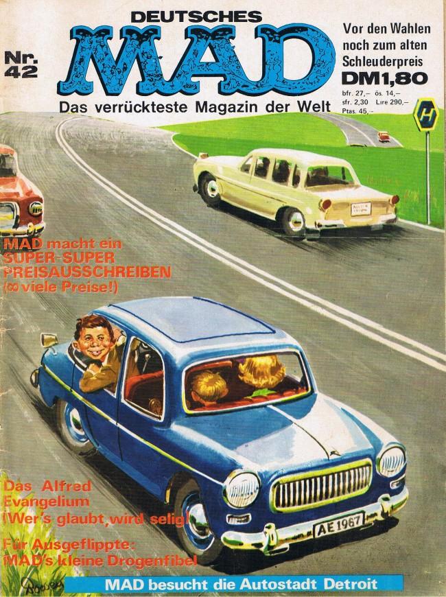 MAD Magazine #42 • Germany • 1st Edition - Williams