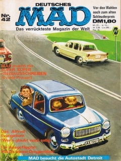 Go to MAD Magazine #42 • Germany • 1st Edition - Williams