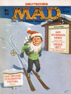 Go to MAD Magazine #44 • Germany • 1st Edition - Williams