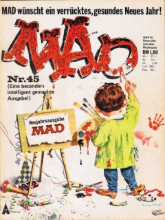 Go to MAD Magazine #45 • Germany • 1st Edition - Williams