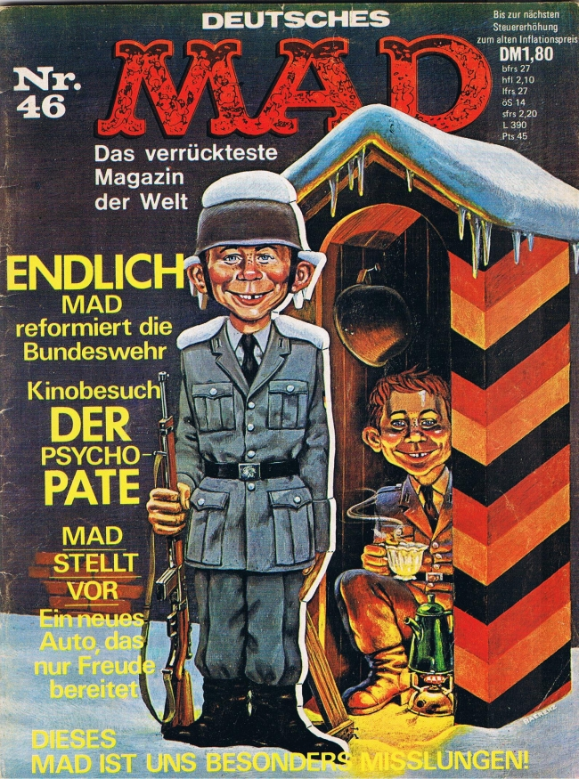 MAD Magazine #46 • Germany • 1st Edition - Williams