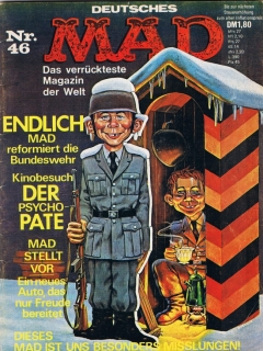 Go to MAD Magazine #46 • Germany • 1st Edition - Williams