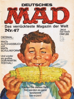 Go to MAD Magazine #47 • Germany • 1st Edition - Williams