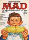 MAD Magazine #47 • Germany • 1st Edition - Williams