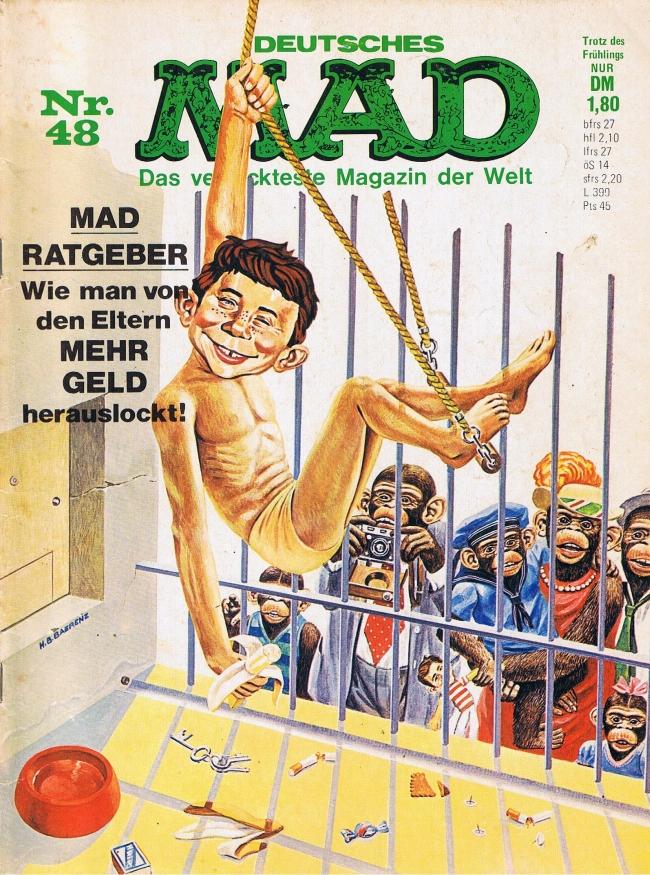 MAD Magazine #48 • Germany • 1st Edition - Williams