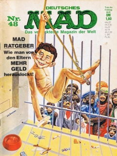 Go to MAD Magazine #48 • Germany • 1st Edition - Williams