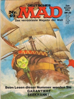 Go to MAD Magazine #49 • Germany • 1st Edition - Williams