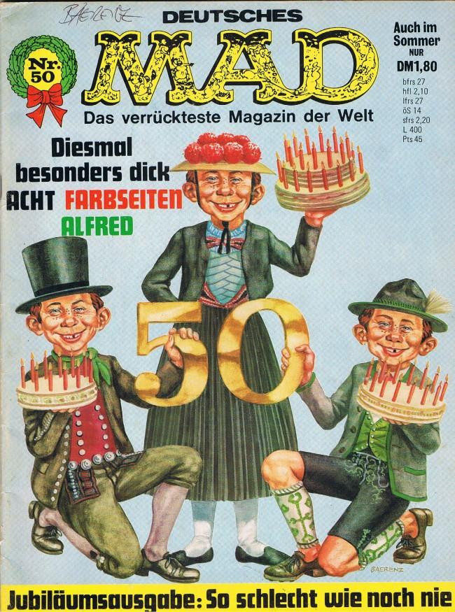 MAD Magazine #50 • Germany • 1st Edition - Williams
