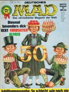 Go to MAD Magazine #50 • Germany • 1st Edition - Williams