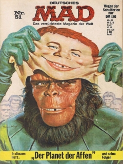 Go to MAD Magazine #51 • Germany • 1st Edition - Williams