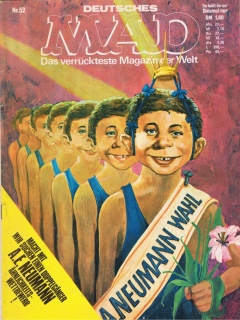 Go to MAD Magazine #52 • Germany • 1st Edition - Williams