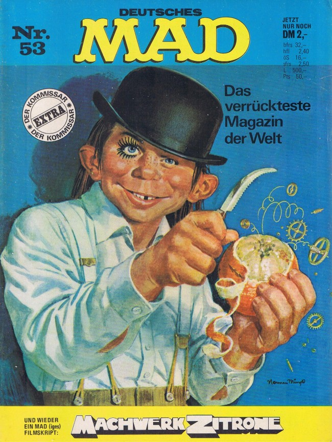 MAD Magazine #53 • Germany • 1st Edition - Williams