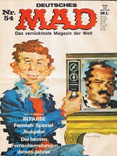 Go to MAD Magazine #54 • Germany • 1st Edition - Williams