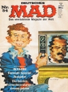 MAD Magazine #54 • Germany • 1st Edition - Williams