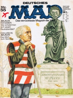 Go to MAD Magazine #55 • Germany • 1st Edition - Williams