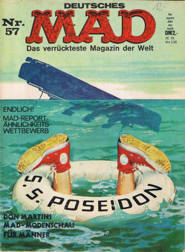 MAD Magazine #57 • Germany • 1st Edition - Williams
