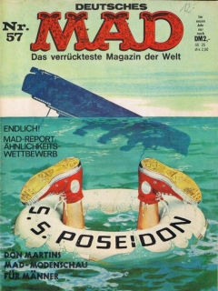 Go to MAD Magazine #57 • Germany • 1st Edition - Williams