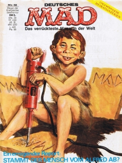 Go to MAD Magazine #58 • Germany • 1st Edition - Williams