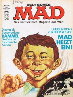 Go to MAD Magazine #59 • Germany • 1st Edition - Williams