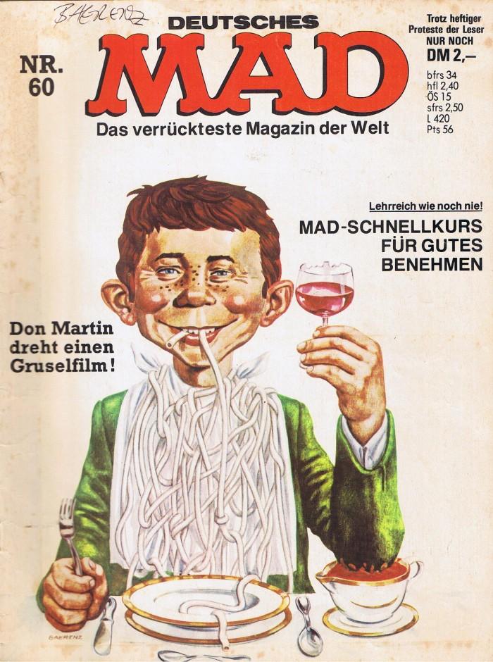 MAD Magazine #60 • Germany • 1st Edition - Williams