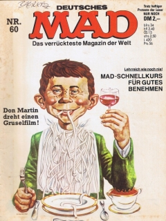 Go to MAD Magazine #60 • Germany • 1st Edition - Williams