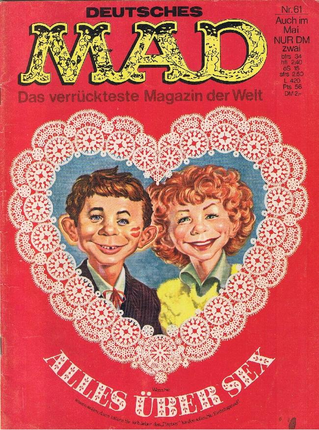 MAD Magazine #61 • Germany • 1st Edition - Williams