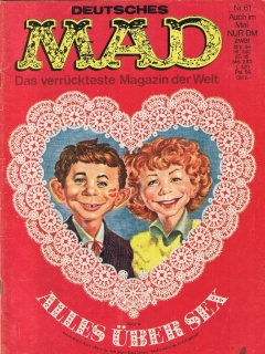 Go to MAD Magazine #61 • Germany • 1st Edition - Williams