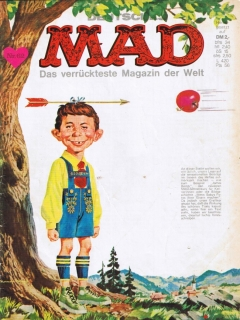 Go to MAD Magazine #62 • Germany • 1st Edition - Williams