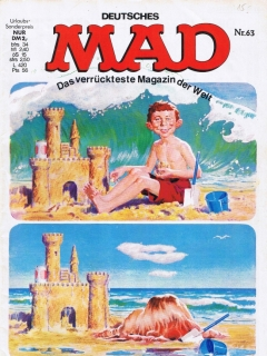 Go to MAD Magazine #63 • Germany • 1st Edition - Williams