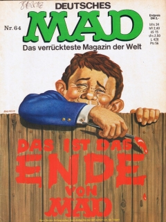 Go to MAD Magazine #64 • Germany • 1st Edition - Williams