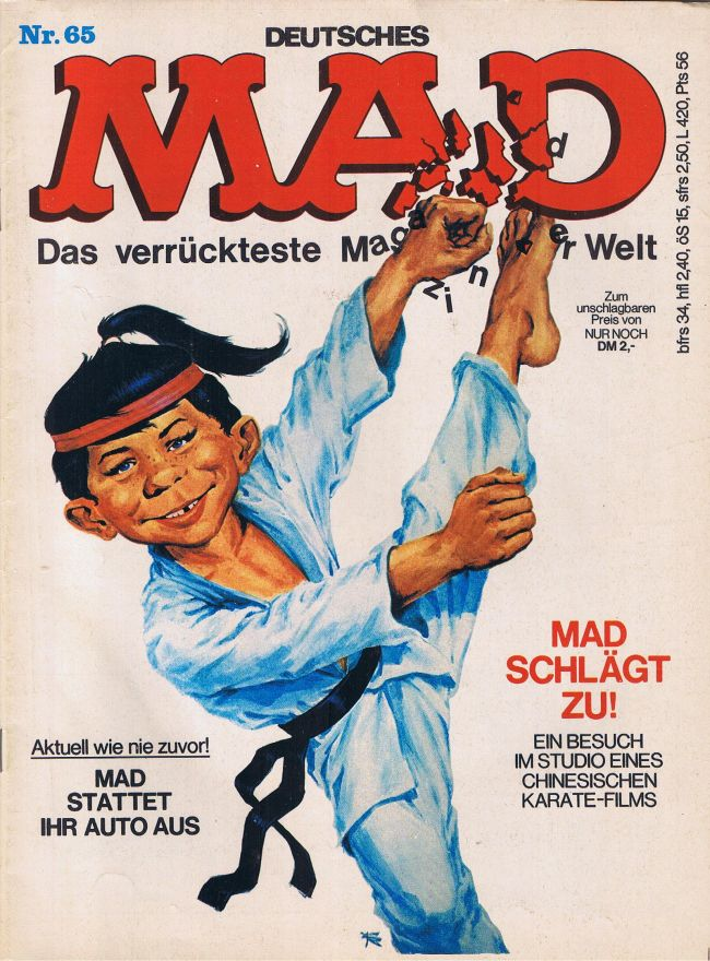 MAD Magazine #65 • Germany • 1st Edition - Williams