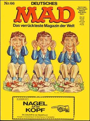 MAD Magazine #66 • Germany • 1st Edition - Williams